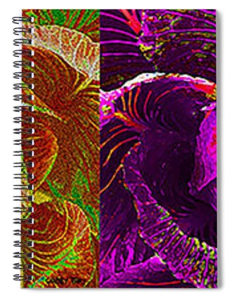 Four Cabbage  Spiral Notebook
