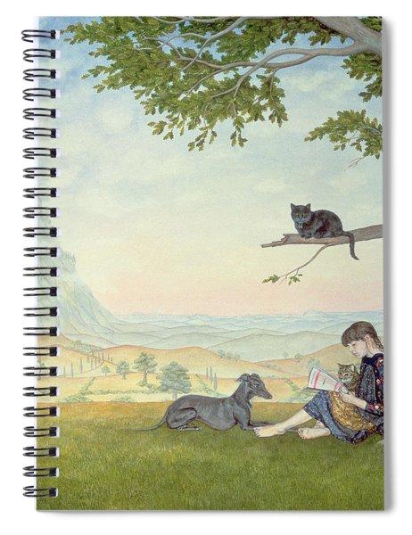 Four Friends Spiral Notebook