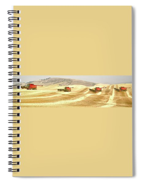 Four Headed In 7013 Spiral Notebook
