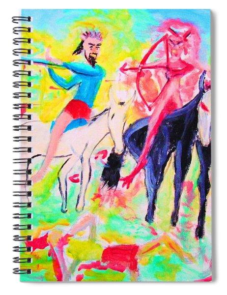 Four Horsemen Spiral Notebook