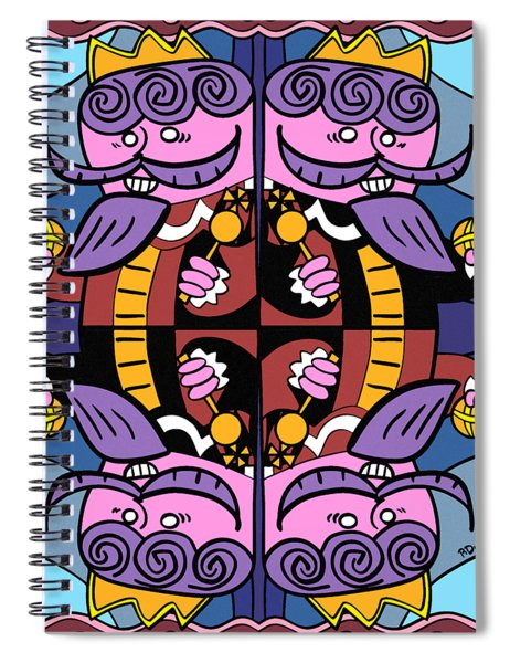 Four Kings Spiral Notebook