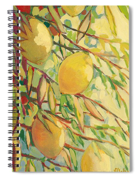 Four Lemons Spiral Notebook