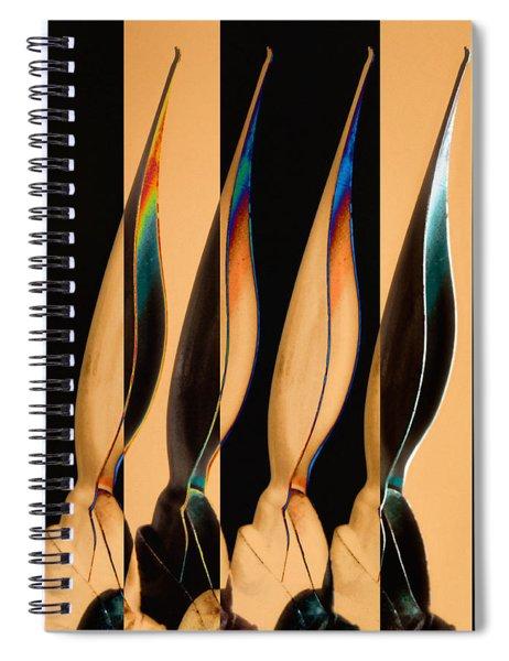 Four Pen Nibs Spiral Notebook