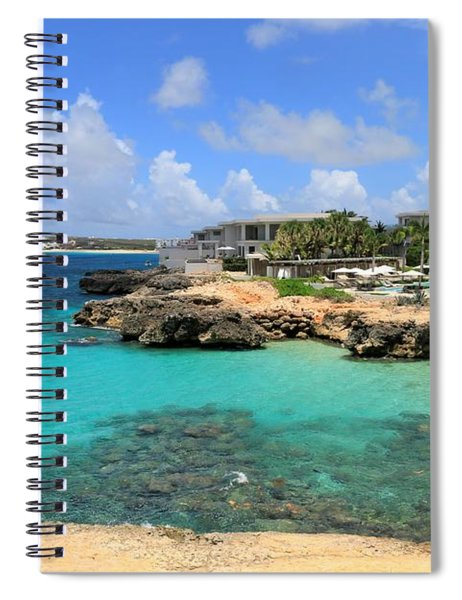 Four Seasons Hotel In Anguilla Spiral Notebook