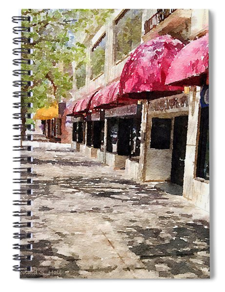Fourth Avenue Spiral Notebook