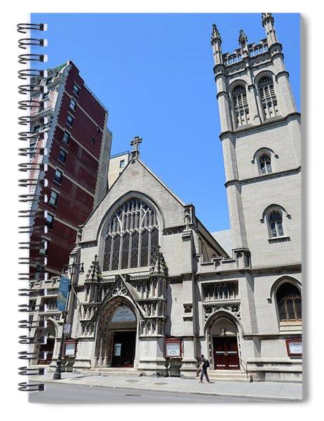 Fourth Society Universalist Church Spiral Notebook