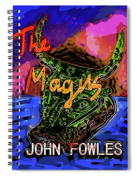 Fowles Magus Poster  Spiral Notebook
