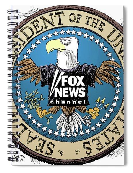 Fox News Presidential Seal Spiral Notebook