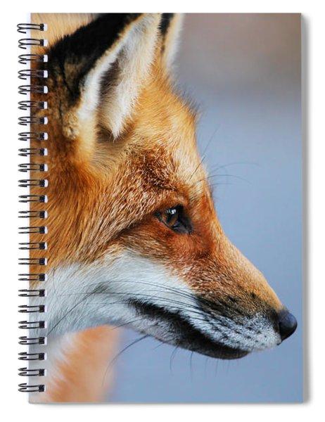 Fox Profile Spiral Notebook