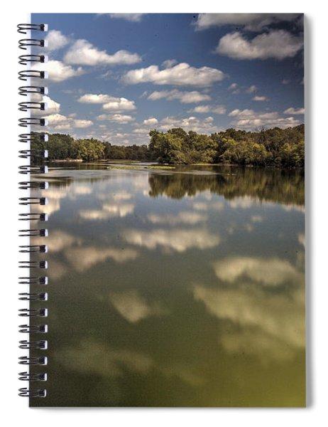 Fox River Lighthouse Geneva Illinois Spiral Notebook