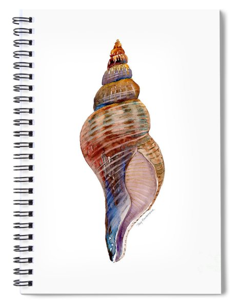 Fox Shell Spiral Notebook