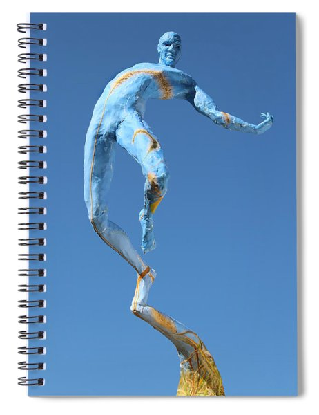 Foxtails In The Breeze Photographed Outside Spiral Notebook