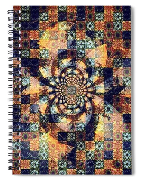 Fractals Within Fractals Within Spiral Notebook