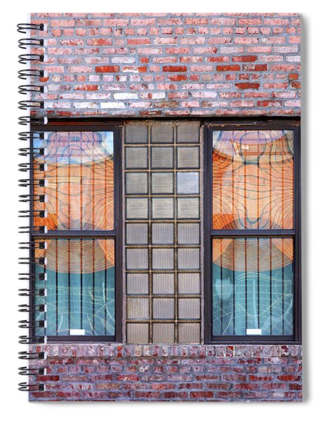 Fracture Reflection Spiral Notebook