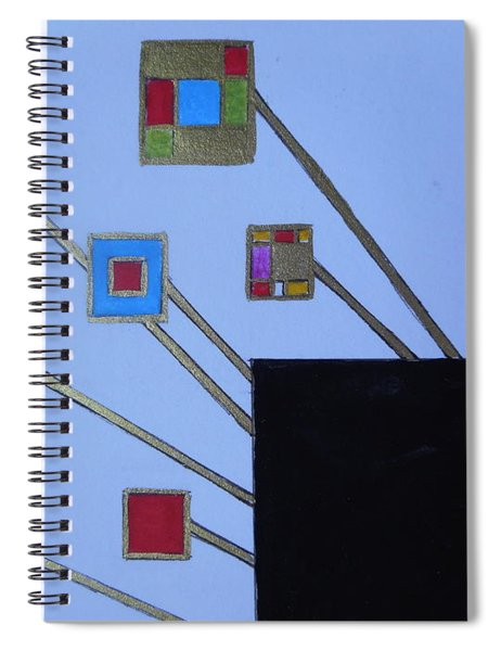 Framed World Spiral Notebook