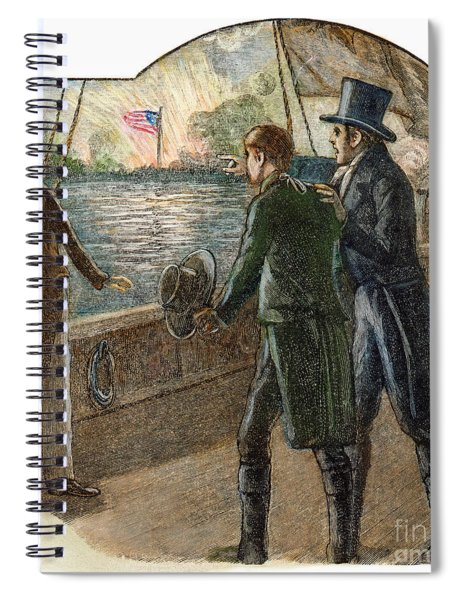 Francis Scott Key, 1814 Spiral Notebook