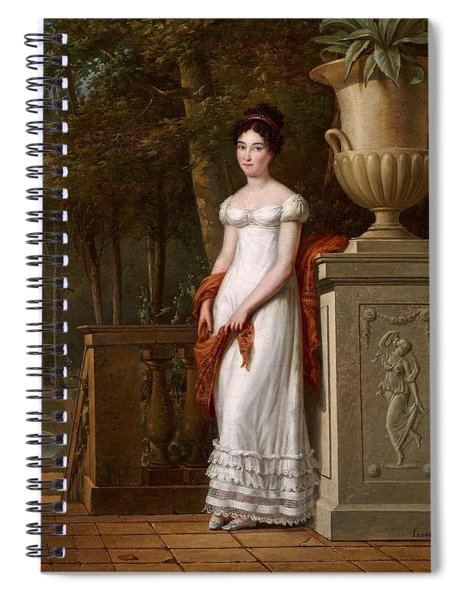 Francisco Lacoma  Portrait Of A Lady Spiral Notebook