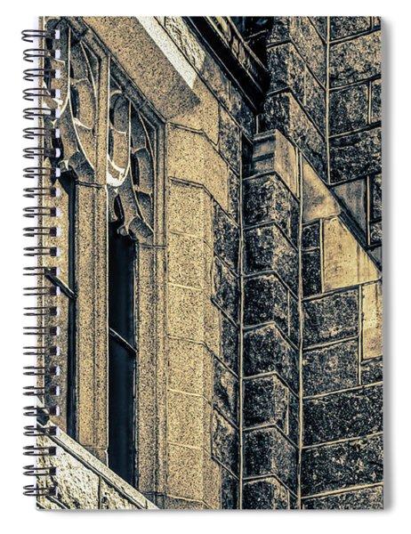 Franco Center Lewiston Maine Spiral Notebook