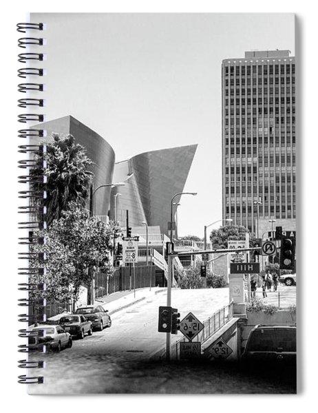 Frank Gehry Disney Music Hall Rear Mirror  Spiral Notebook