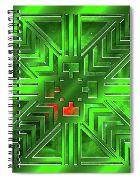 Frank Lloyd Wright Design Spiral Notebook