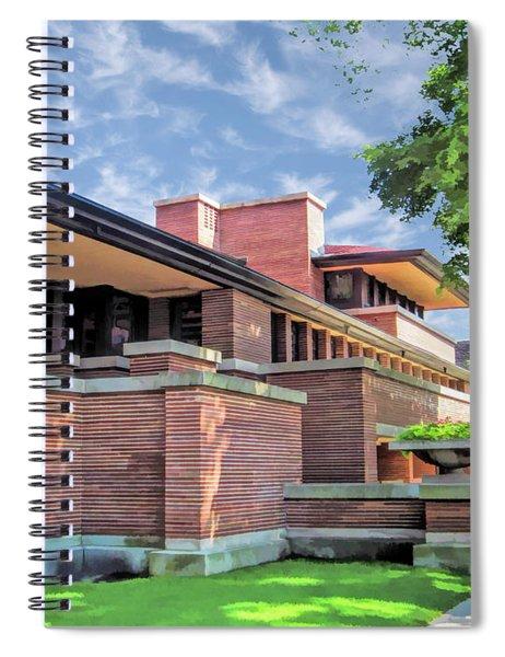 Frank Lloyd Wright Robie House Spiral Notebook