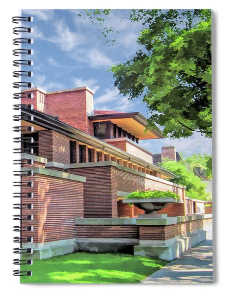 Frank Lloyd Wright Robie House Spiral Notebook