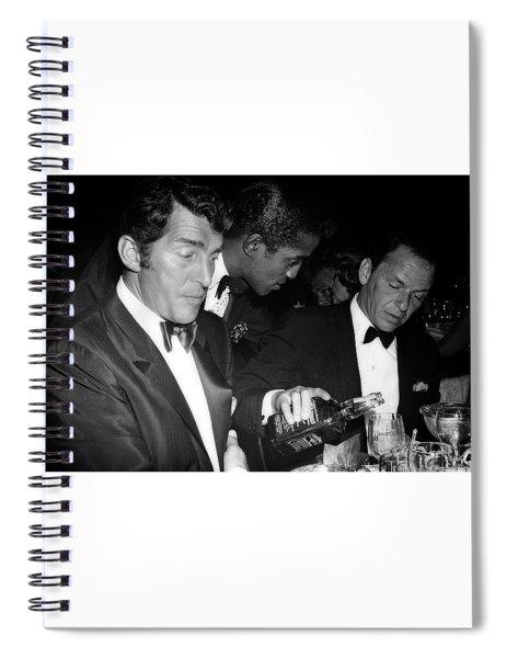 Frank Sinatra Drank American Whiskey His Way Spiral Notebook