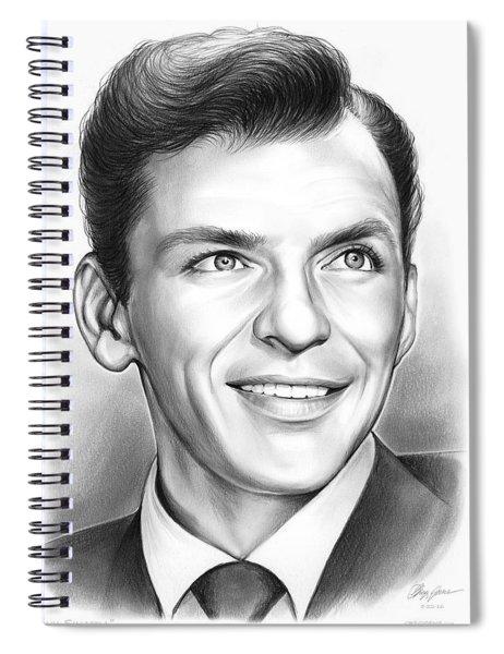 Frank Sinatra Spiral Notebook