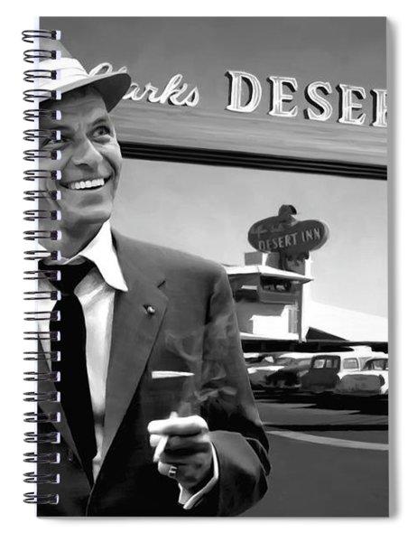 Frank Sinatra In Las Vegas Spiral Notebook