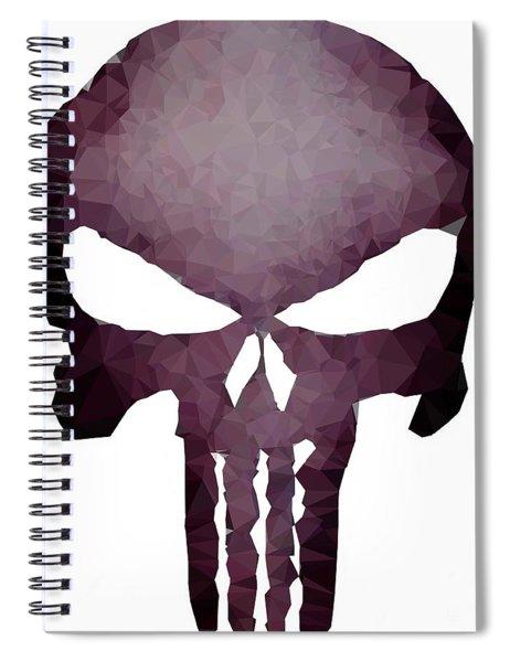 Frank Skull Spiral Notebook