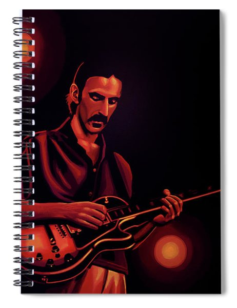 Frank Zappa 2 Spiral Notebook