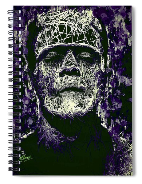 Frankenstein Spiral Notebook