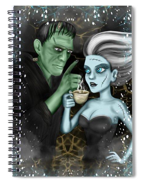 Frankenstien Fantasy Art Spiral Notebook