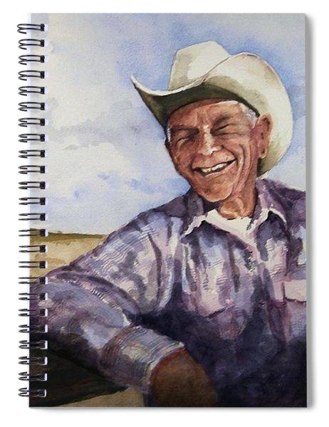 Frankie Spiral Notebook by Sam Sidders