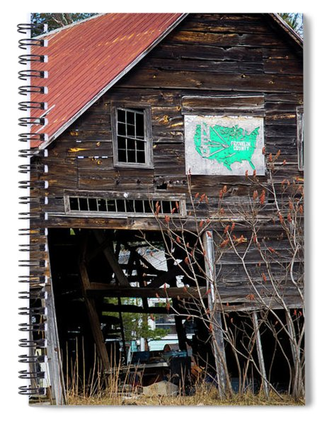 Franklin County Sign Spiral Notebook