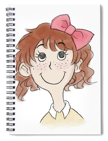 Freckle Face Coco Spiral Notebook