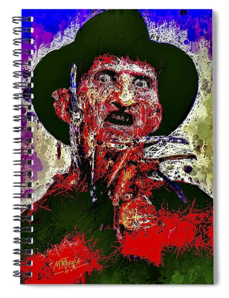 Freddy Krueger Spiral Notebook