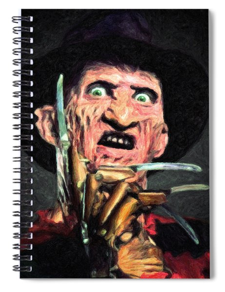 Freddy Krueger Spiral Notebook
