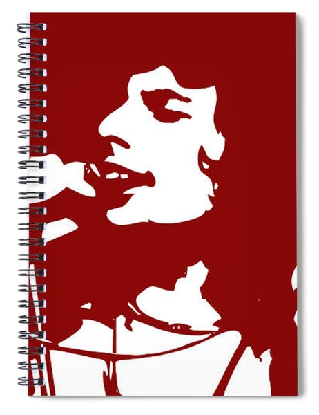 Freddy Mercury Spiral Notebook