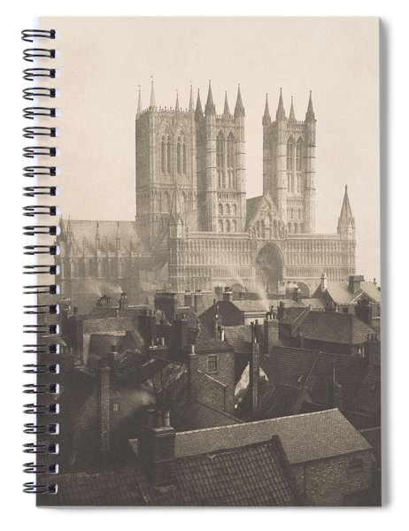 Frederick H. Evans, British, London 1853-1943 London, Lincoln Cathedral, From The Castle Spiral Notebook