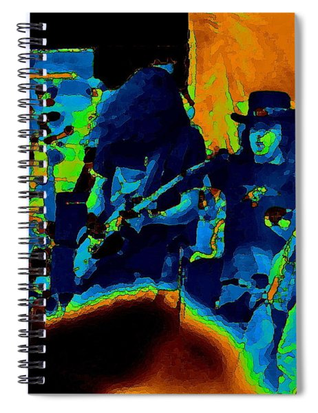 Free Bird Pastel Oakland 1 Spiral Notebook