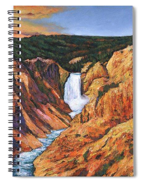 Free Falling Spiral Notebook
