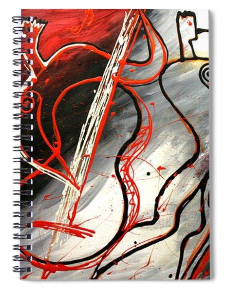 Free Jazz Spiral Notebook