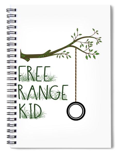 Free Range Kid Spiral Notebook