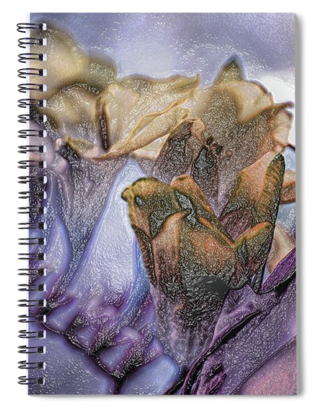Freesia Carved One Spiral Notebook
