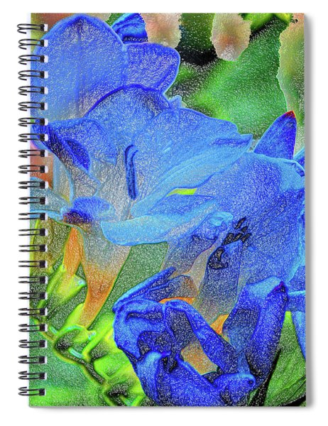 Freesia's Of Beauty Spiral Notebook