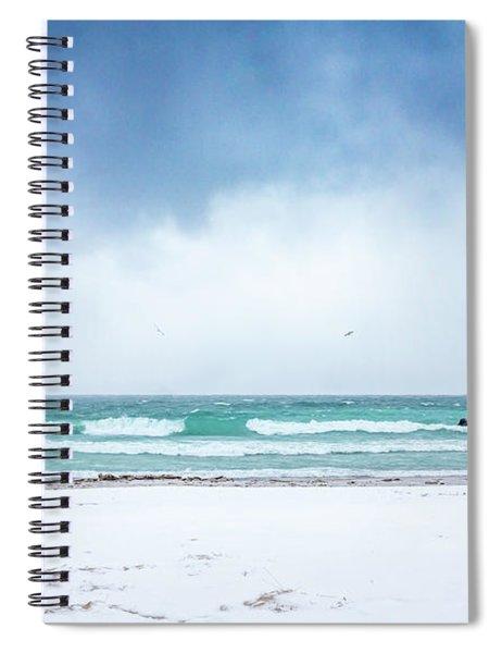 Freezing Storm Spiral Notebook