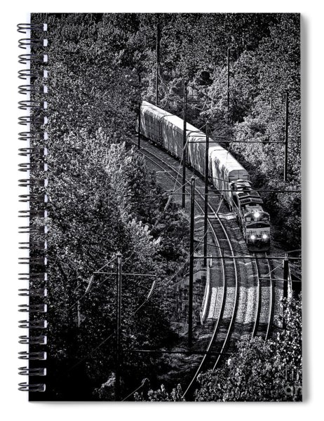 Freighting Away Spiral Notebook