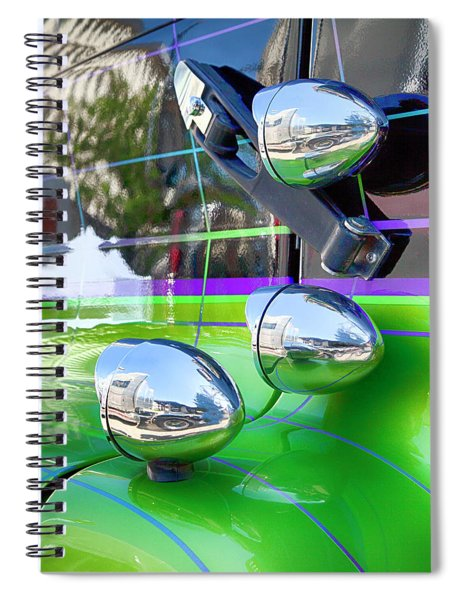 Freightliner Abstract Spiral Notebook