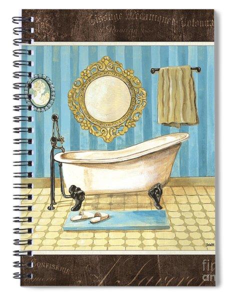 French Bath 1 Spiral Notebook
